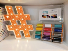 Susan's new Aurifil Collection, Hello