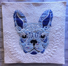 Flour the Frenchie by Laser Cut Quilts