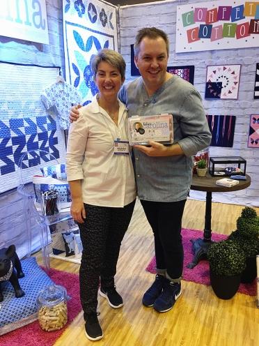 Elena Gregotti with Christopher Thompson