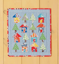 Avenues Mini Quilt from Weekend Quilting by Jemima Flendt