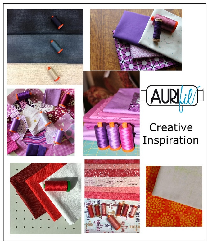Aurifil 2017 Designers of the month fabrics july.JPG