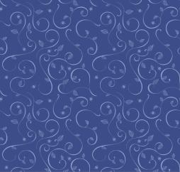 Roses Vine Blue