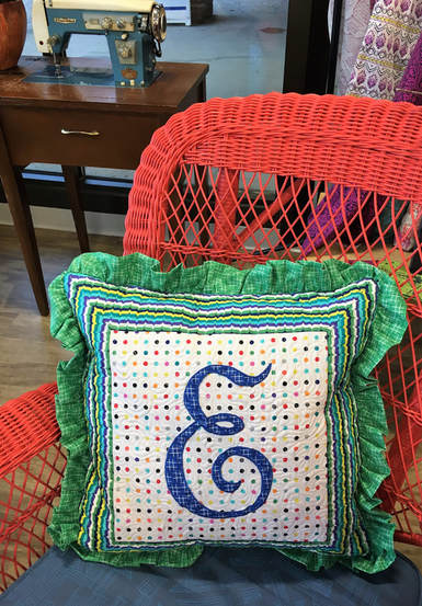 Pillow by Cheryl of UnSpooled