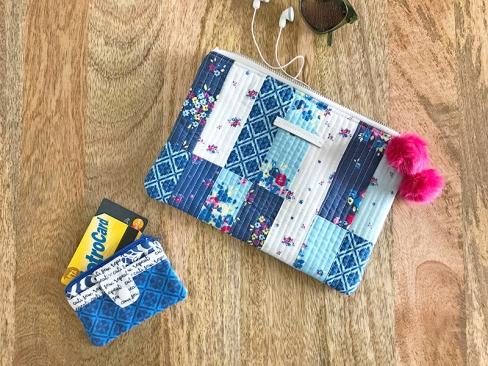 Zipper Pouch by Nicole of Modern Handcraft