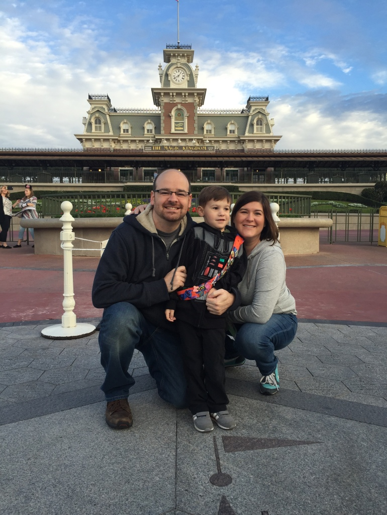 My family and I at Disney World!