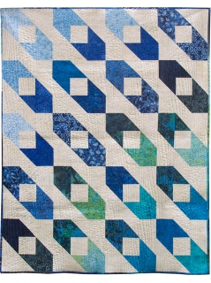 Rank and File by Jessica Caldwell of Desert Bloom Quilting (Zen Showcase Quilt & Pattern)