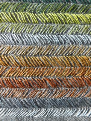 Detail of Tweed Cushion by Sheena Norquay