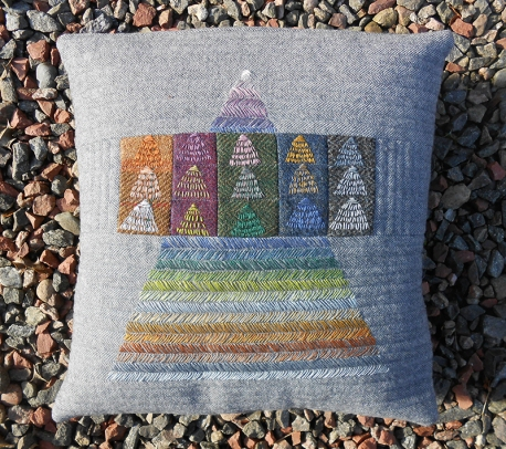 Tweed Cushion by Sheena Norquay