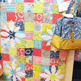 Picking Daisies Quilt by Keera Job - @keera.job