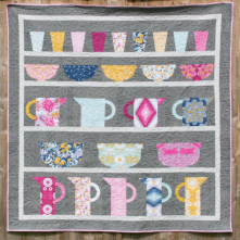 Crockery Cupboard Quilt by Jo Avery for The Thread House - click here
