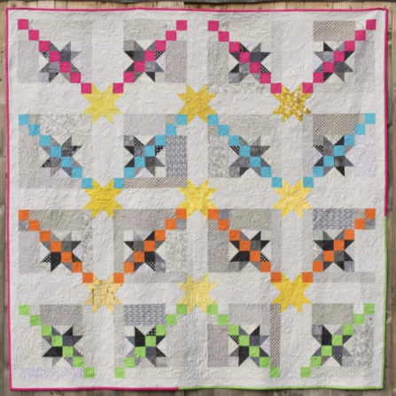 Starlights Quilt by Jo Avery for The Thread House - click here