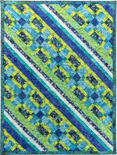Sea of Tranquility by Nan Baker of Perfect Spots (Zen Showcase Quilt & Pattern)