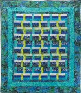 Zen Basket by Maryellen McAuliffe of Mary Mack Made Mine (Zen Showcase Quilt & Pattern)