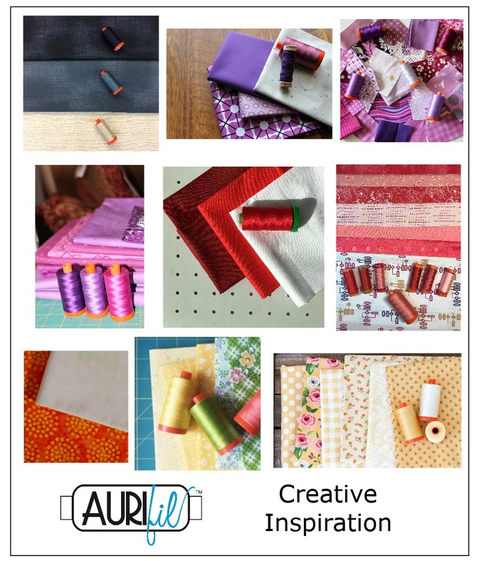 Aurifil 2017 Designers of the month fabrics Sept.JPG