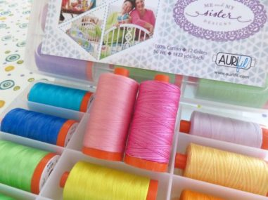 Read more about Barb & Mary's favorite thread colors here