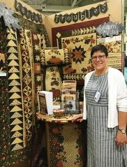Lynne Hagmeier of Kansas Troubles Quilters