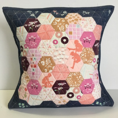 Made with Aurifil 2410 / Pale Pink