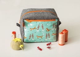 Boxy Pocket Pouch from Stitched Sewing Organizers