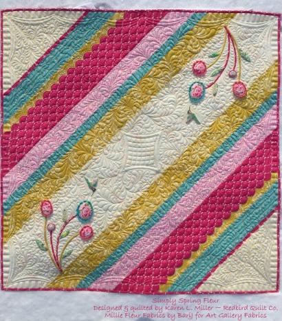 Simply Spring Mille Fleur by Karen Miller