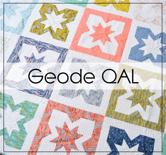 Geode QAL with BlossomHeartQuilts
