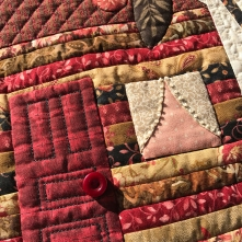Family Estate Quilt using 50wt & 40wt + Clear Monofilament in the border