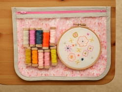 See it All Pouch from Stitched Sewing Organizers