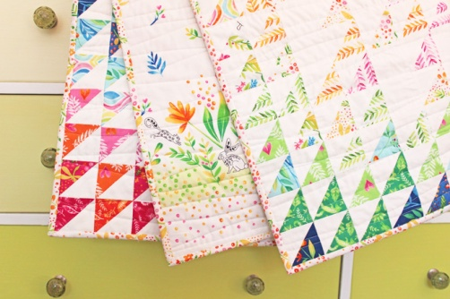 Frolic Field Baby Quilt