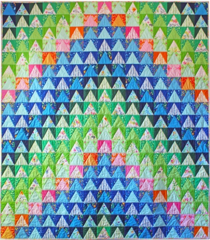 Over the Mountain Quilt