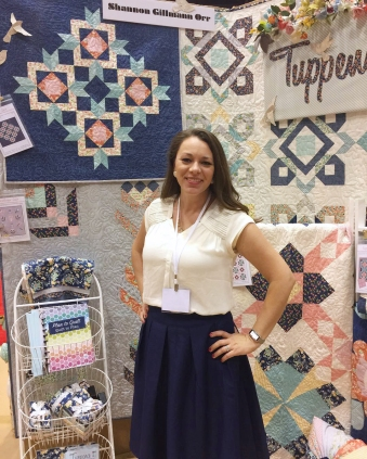 Shannon at Spring Quilt Market