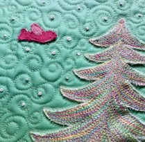 The Subtle Tree by Karen Miller of @redbirdquiltco