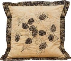 Morels + More Pillow by Nan Baker, Purrfect Spots
