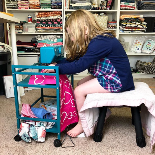 Helena's sewing nook!