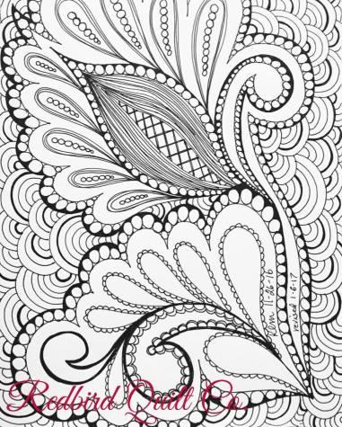 Karen Miller's original doodle