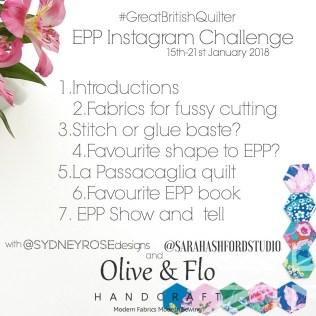 January 2018 GBQ Mini Challenge for EPP