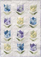 New Spring Quilt by Briar Hill Designs - image at @rjrfabrics