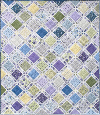 Train Station Quilt by @briarhilldesigns