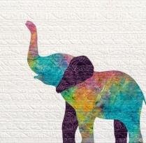 Babyhood Elephant Detail
