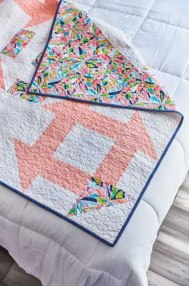 Churn Dash Quilt - image by F+W Media