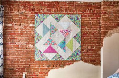 Flying Geese Quilt - image by F+W Media