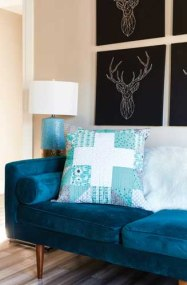 Hearth and Home Pillow - image by F+W Media