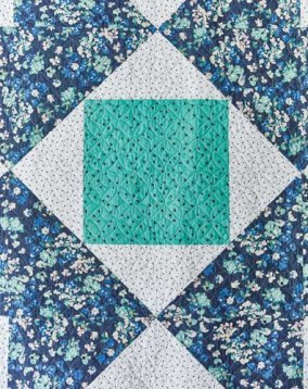 Home Treasure Quilt Detail - image by F+W Media