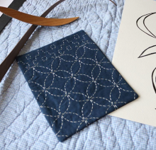 Hand Stitched Sashiko by Jenni Smith