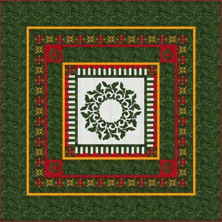 Evergreen Quilt, Margaret Willingham
