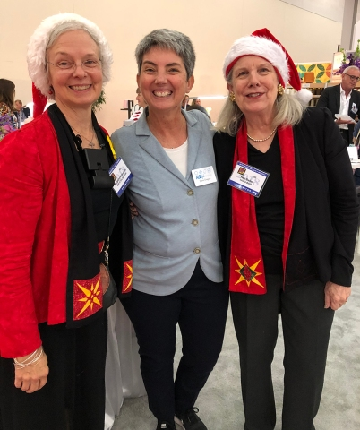 Margaret, Elena, & Nan