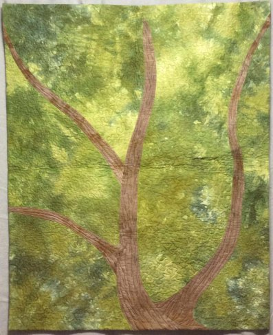 Canopy by Donna Morales-Oemig, Quilted with 40wt