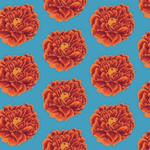 Full Bloom, New Backing Fabric - View All