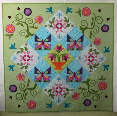 Quilting by Suzan DeSerres