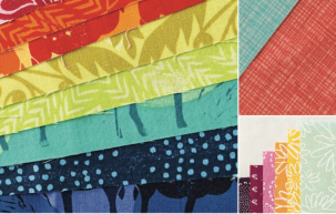 Color Planning from Quilts with an Angle