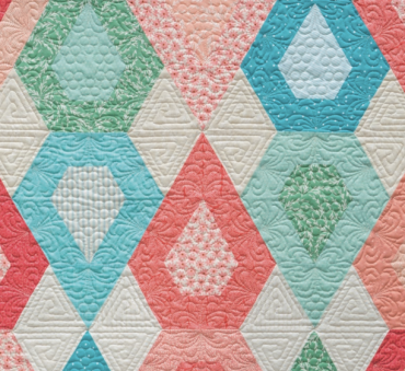 Details of Patisserie, designed and pieced by Sheila Christensen, quilted by Sue Burnett