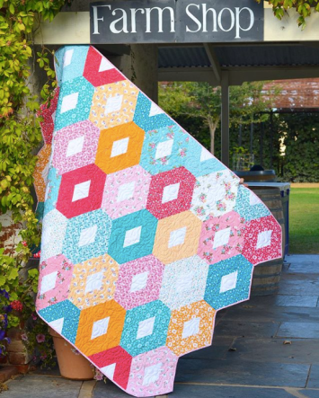 XOXO Quilt by Sedef Imer